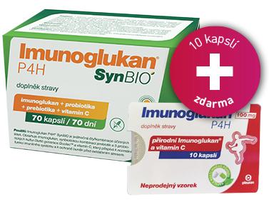 Imunoglukan P4H® SynBIO 70 kapslí